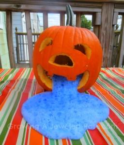 Erupting Pumpkin